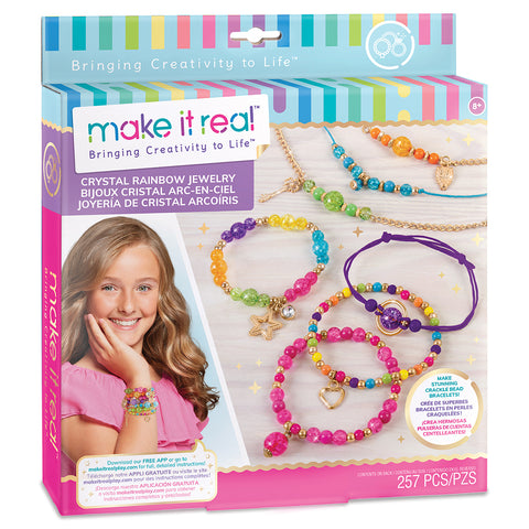 Crystal Rainbow Jewelry By Make it Real - Bloxx Toys - Toronto, Montreal, Vancouver, Kids, Building Toys, Shopping online, Ontario, Quebec, - Educational Online Toys Store Canada