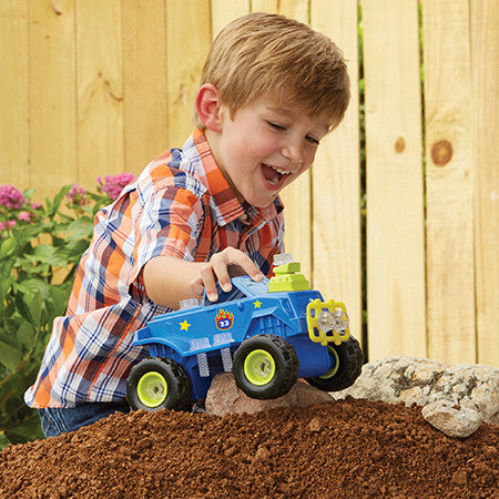 Design & Drill Power Play Vehicles Monster Truck By Educational Insights - Bloxx Toys - Toronto Online Toys Store - 3