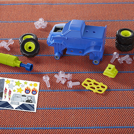 Design & Drill Power Play Vehicles Monster Truck By Educational Insights - Bloxx Toys - Toronto Online Toys Store - 4