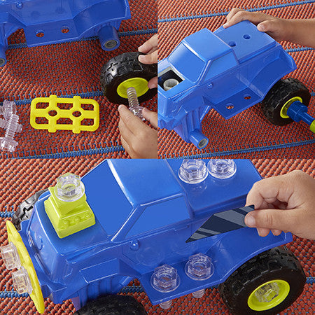Design & Drill Power Play Vehicles Monster Truck By Educational Insights - Bloxx Toys - Toronto Online Toys Store - 5
