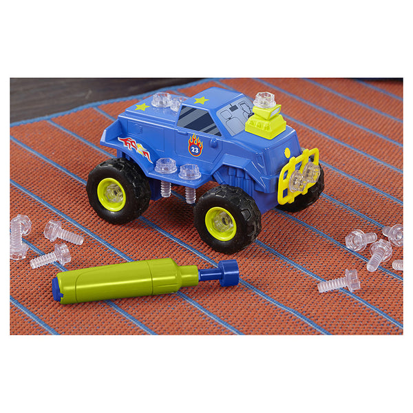 Design & Drill Power Play Vehicles Monster Truck By Educational Insights - Bloxx Toys - Toronto Online Toys Store - 6
