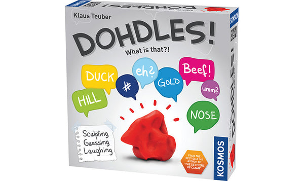 DOHDLES! Sculpting, Guessing and Laughing Family and party Game - Bloxx Toys - Toronto Online Toys Store - 1