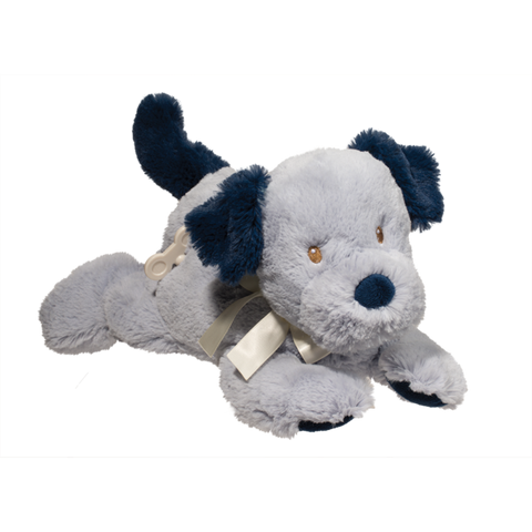 Musical Baby Toy Blue Dog- By Douglas - Bloxx Toys - Toronto Online Toys Store