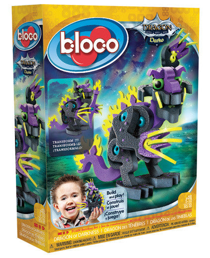 Darko Dragon of Darkness Foam Blocks By Bloco - Bloxx Toys - Toronto Online Toys Store - 1