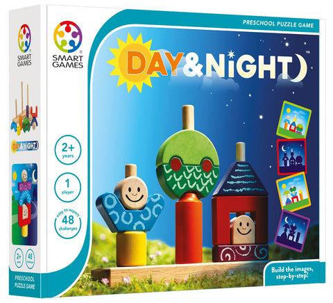Day & Night educational logical game By Smart Games Multilingual