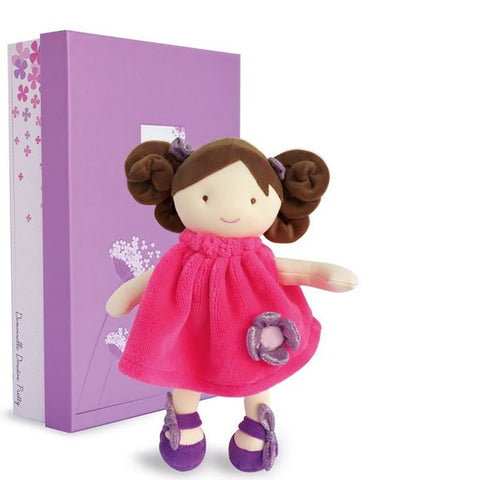 Demoiselle de Doudou-Pretty Lady Doll lollipop 28 cm By Doudou Bloxx Toys Kid friendly and educational toys
