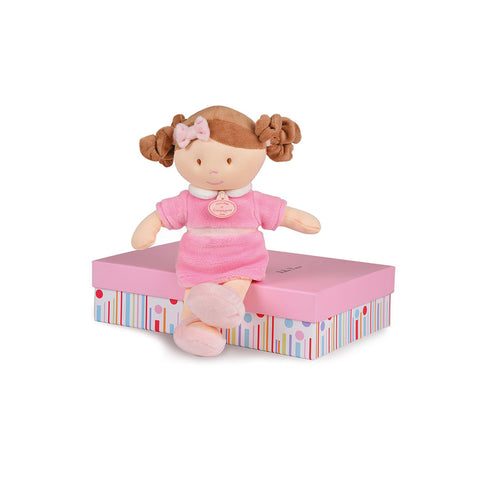 Demoiselles de Doudou - Pink Doll 30 cm By Doudou - Bloxx Toys - Toronto, Montreal, Vancouver, Kids, Building Toys, Shopping online, Ontario, Quebec, - Educational Online Toys Store Canada