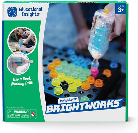 Design & Drill Brightworks By Educational Insights | Toys Canada