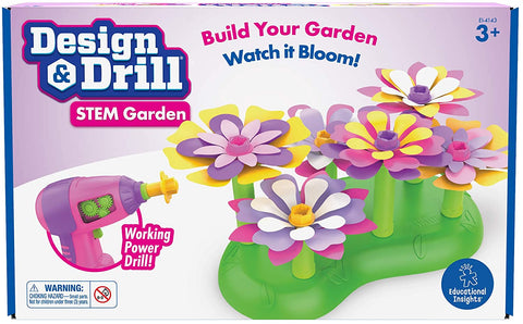 Design & Drill Stem Garden By Educational Insights - Bloxx Toys-Toronto,,AutismToys Montreal toys, Alberta toys, Ontario toys, Quebec toys, Children Toys,Kids Toys,Educational toys Online Toys Store Canada