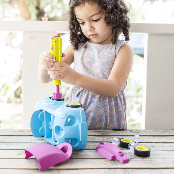 Design & Drill® Convertible Car Drill Toy, Stem Learning By Educational Insights