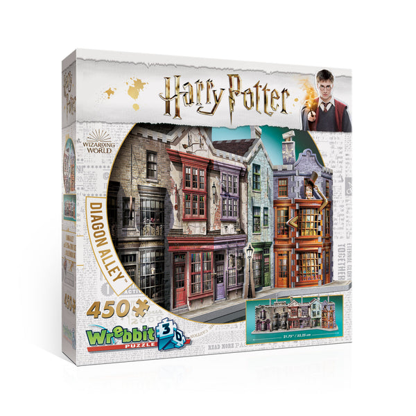 Diagon Alley Harry Potter 3D Puzzle By Wrebbit -Bloxx Toys-Toronto toys, toy, Canada, Autism Toys, Ontario toys, Quebec toys, Children Toys,Kids Toys,Educational toys, Online Toys Store Canada