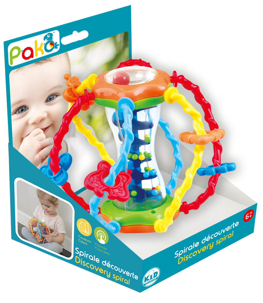 Discovery spiral Educational Toy By Pakö | Educational Toys