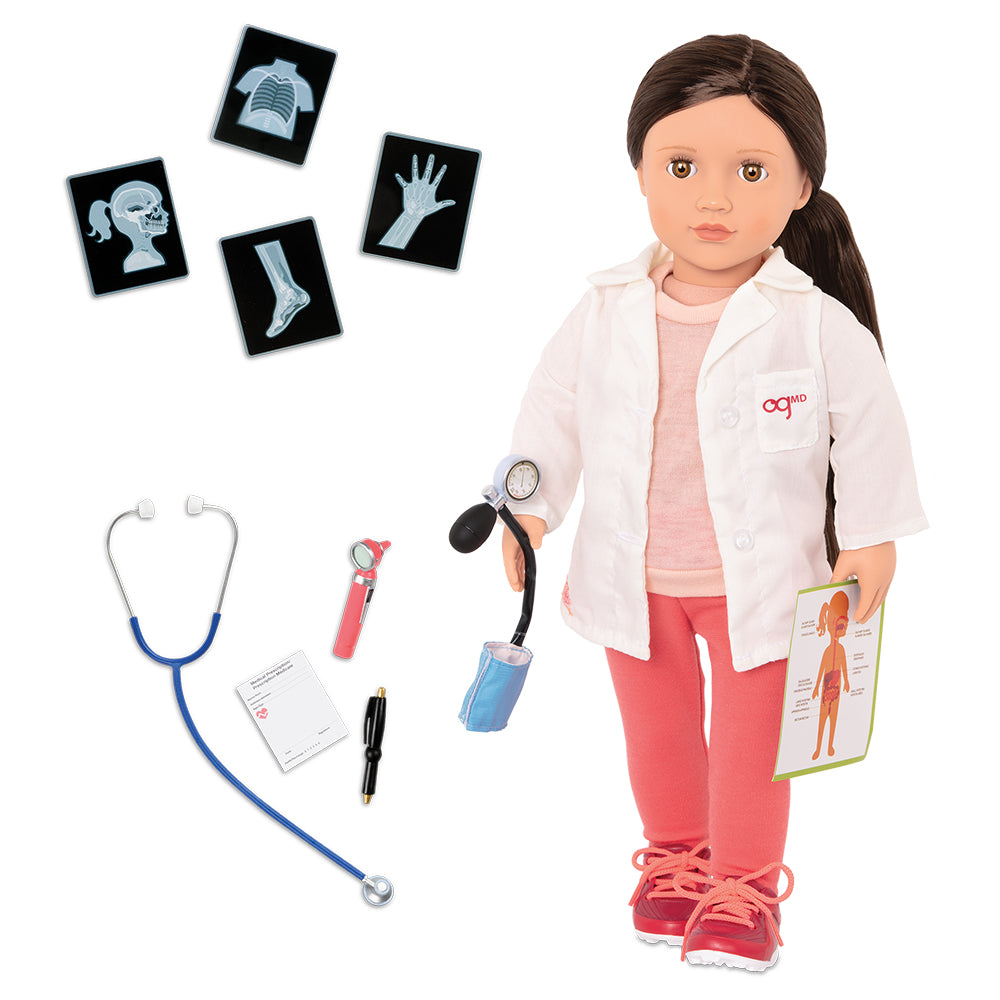 "Doll Deluxe - Doctor Nicola 18"" By Our Generation 