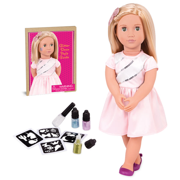 "Doll Deluxe - Rosalyn 18"" Doll By Our Generation 