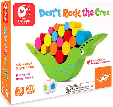Don't Rock The Crock Logical and Strategy game By Foxmind