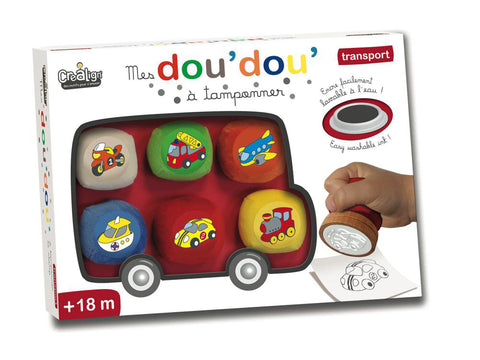 Doudou Stamps - Transport By Crealign - BloxxToys Canada