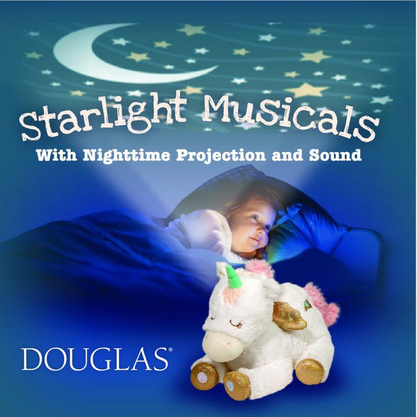 Dragon Starlight Musical Plush Toy by Douglas - BloxxToys