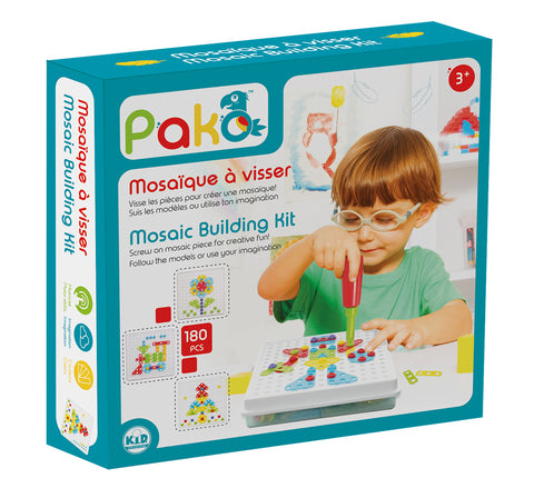 Mosaic Building Kit Design and Drill By Pakö