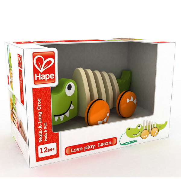Walk-A-Long Crocodile By Hape