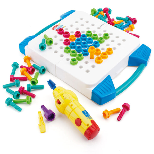 EDUCATIONAL INSIGHTS DESIGN & DRILL TAKE-ALONG TOOL KIT - Bloxx Toys - Toronto Online Toys Store - 3