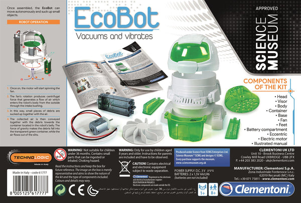 Ecobot Bilingual By Clementoni