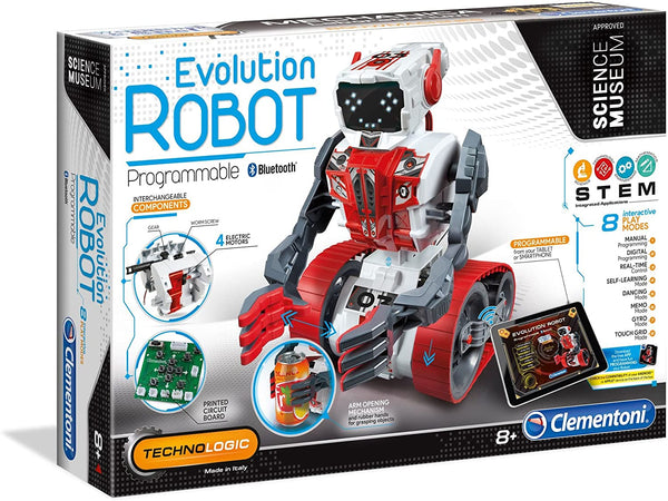 Evolution Robot Bilingual By Clementoni - BloxxToys