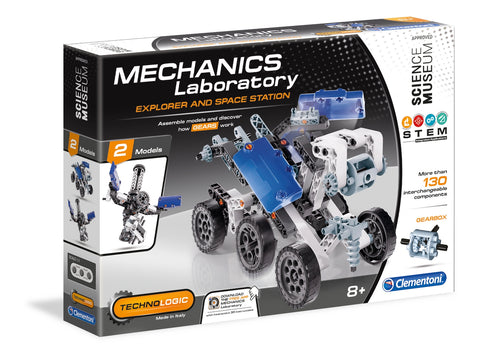 Explorer & Space Station Mechanics Laboratory By Clementoni