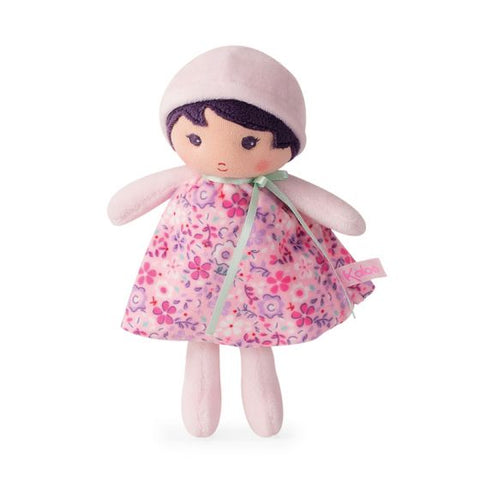 FLEUR Tendresse Soft small pink Doll Toy -By Kaloo Barrie