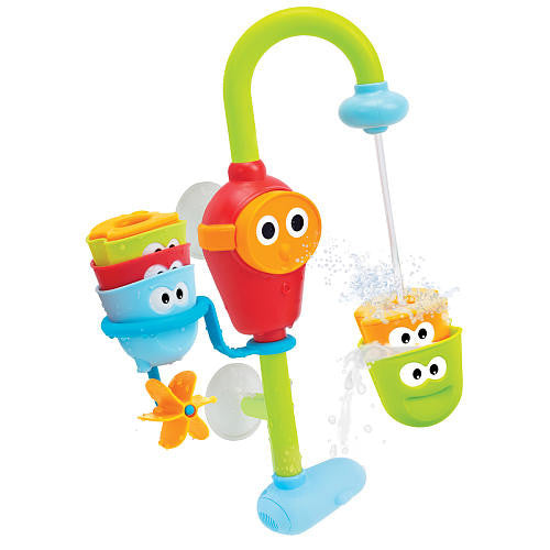 FLOW 'N' FILL SPOUT  By Yookidoo - Bloxx Toys - Toronto Online Toys Store - 3FLOW 'N' FILL SPOUT closed Educational Bath Toy By Yookidoo