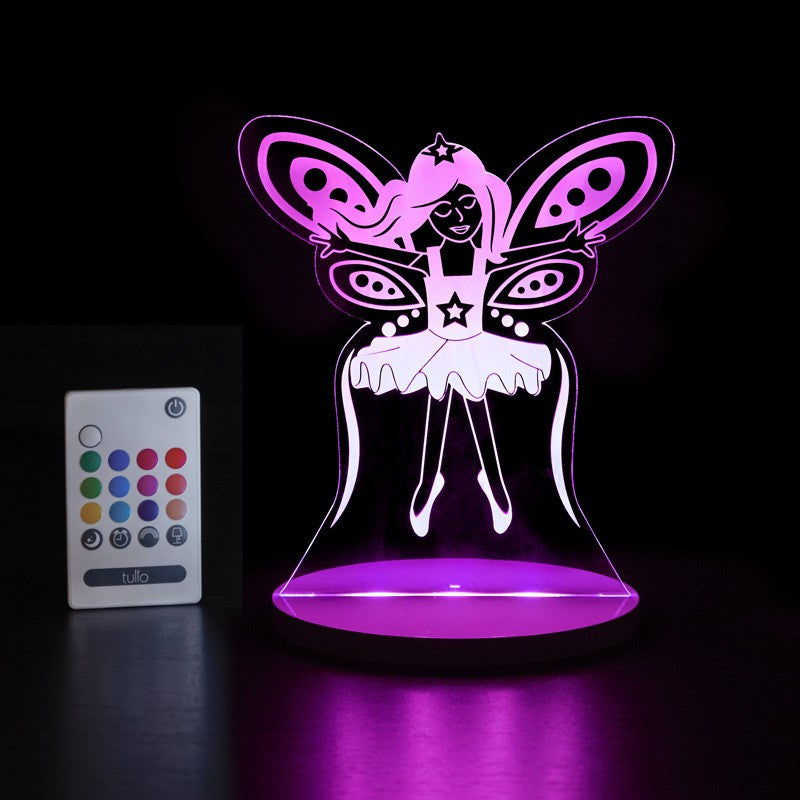 Fairy Multi Coloured LED Night Light By Tulio Dream Lights - Bloxx Toys - Toronto Online Toys Store