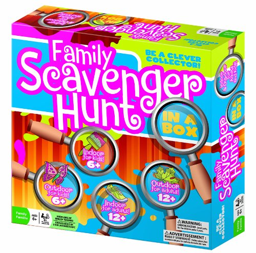 Family Scavenger Hunt Game By Outset - Bloxx Toys - Toronto - Educational Online Toys Store Canada