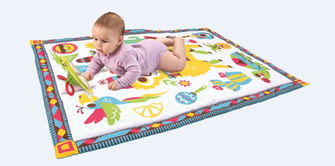 Fiesta Activity Playmat to Bag™ By Yookidoo - Bloxx Toys - Toronto, Montreal, Vancouver, Alberta, Edmonton, Kids, Parents, Present, Shopping online, Ontario, Quebec, - Educational Online Toys Store Canada