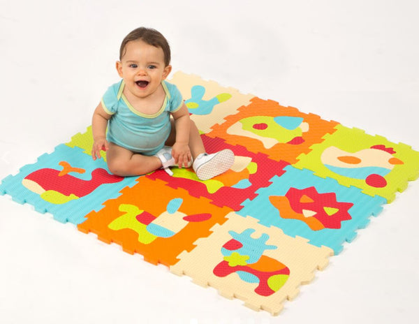 Foam Mat Animal Puzzle By LUDI | BloxxToys Canada