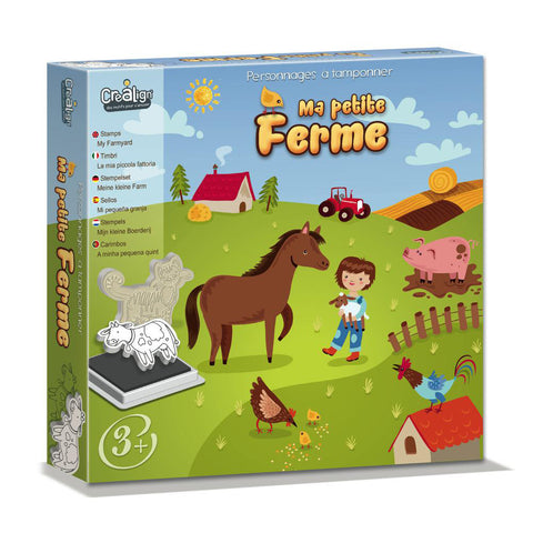 Foam Stamps set - My Little Farm By Crealign  BloxxToys