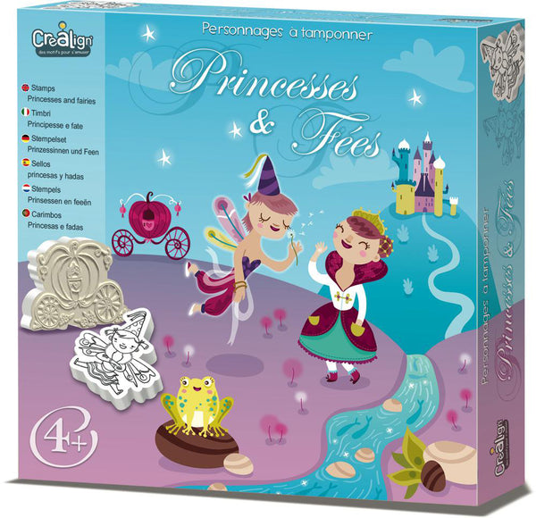 Foam Stamps set - Princesses and fairies By Crealign