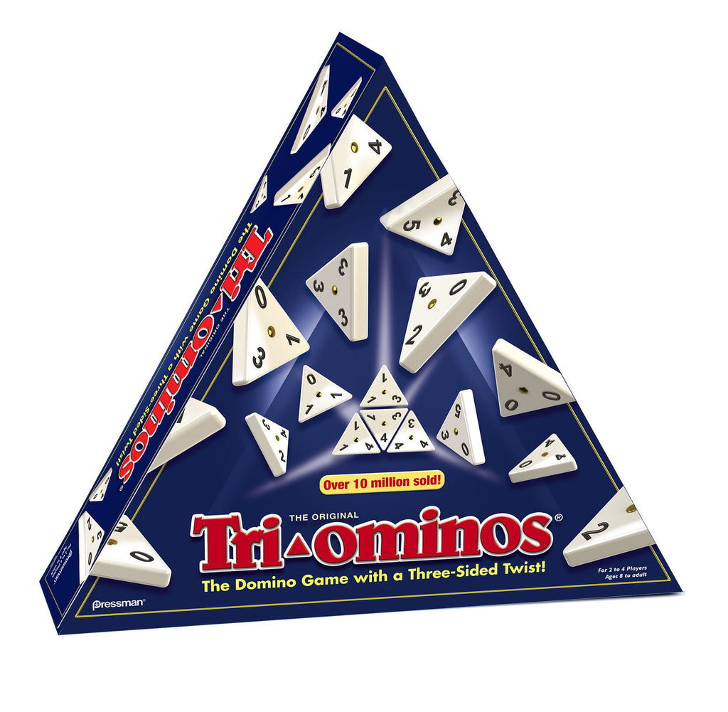 Game Tri-Ominos Deluxe By Pressman - Bloxx Toys - Toronto Online Toys Store - 1