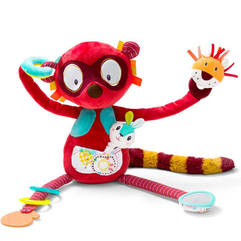 Georges the Activity Lemur - By Lilliputiens - BloxxToys Canada