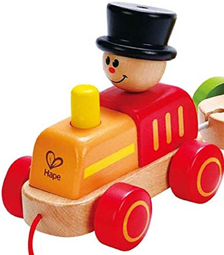 TRIPLE PLAY TRAIN By Hape - Bloxx Toys - Toronto Online Toys Store - 3