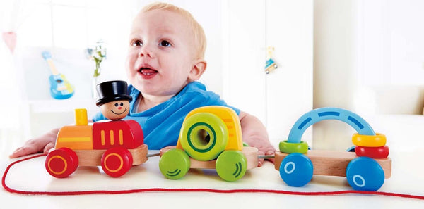 TRIPLE PLAY TRAIN By Hape - Bloxx Toys - Toronto Online Toys Store - 5