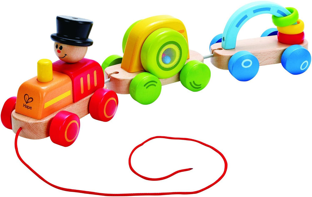 TRIPLE PLAY TRAIN By Hape - Bloxx Toys - Toronto Online Toys Store - 1