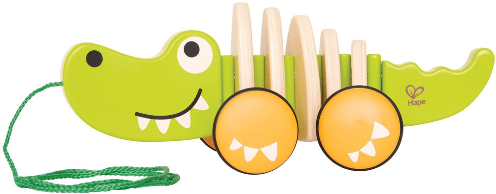 WALK-A-LONG CROCODILE By Hape - Bloxx Toys - Toronto Online Toys Store - 1