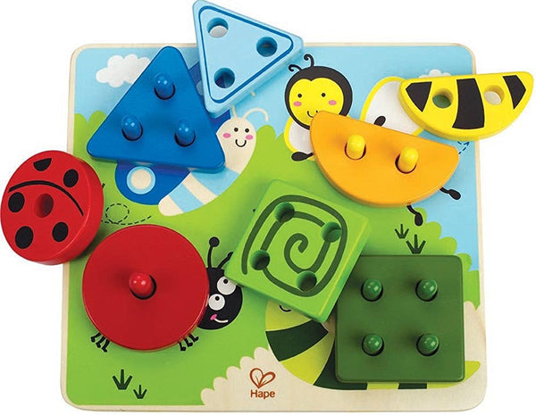 Early Explorer - Build-A-Bug Wooden Sorter Puzzle By Hape - Bloxx Toys - Toronto Online Toys Store - 2