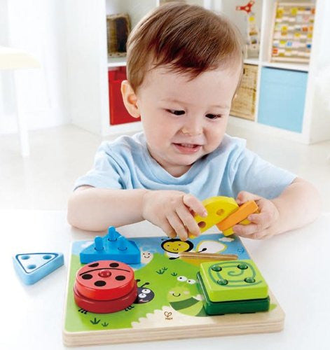 Early Explorer - Build-A-Bug Wooden Sorter Puzzle By Hape - Bloxx Toys - Toronto Online Toys Store - 3
