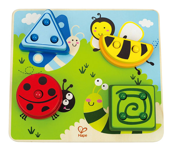 Early Explorer - Build-A-Bug Wooden Sorter Puzzle By Hape - Bloxx Toys - Toronto Online Toys Store - 1