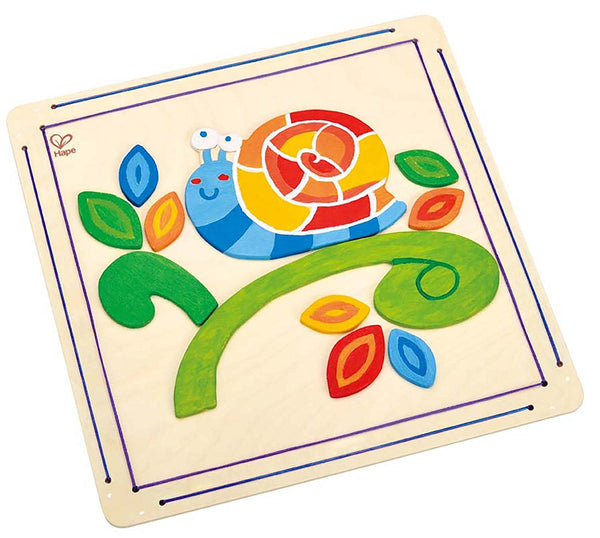 Happy Snail Paint & Frame Arts and Crafts Kit By Hape - Bloxx Toys - Toronto Online Toys Store - 4