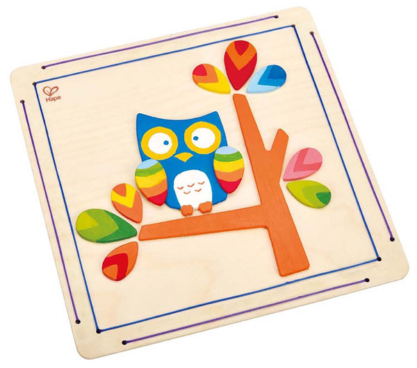 Hoot Owl Paint & Frame Arts and Crafts Kit By Hape - Bloxx Toys - Toronto Online Toys Store - 2