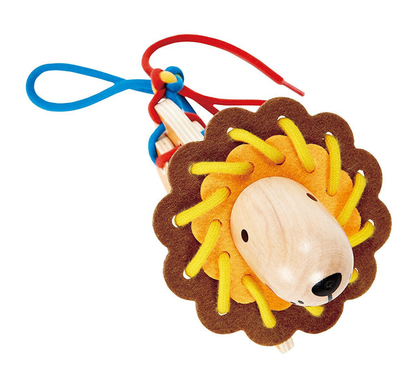 Lacing Lion Educational Toy By Hape - Bloxx Toys - Toronto Online Toys Store - 7