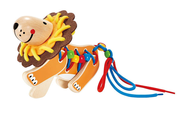 Lacing Lion Educational Toy By Hape - Bloxx Toys - Toronto Online Toys Store - 5