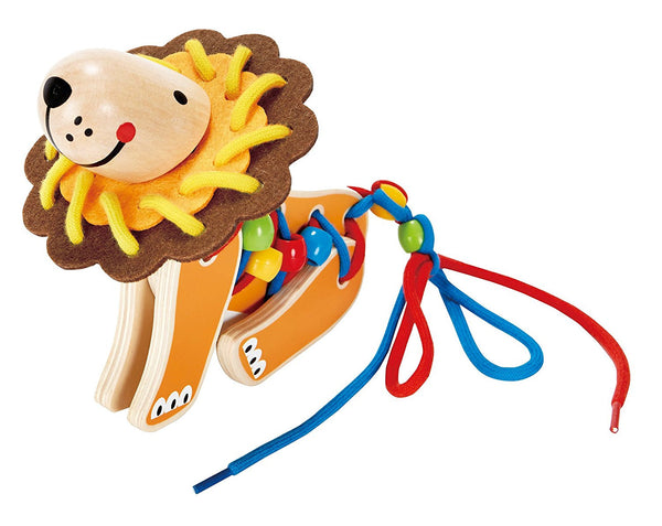 Lacing Lion Educational Toy By Hape - Bloxx Toys - Toronto Online Toys Store - 3