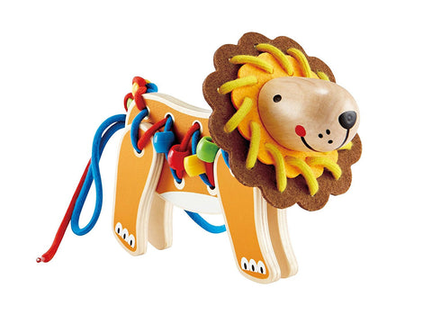 Lacing Lion Educational Toy By Hape - Bloxx Toys - Toronto Online Toys Store - 1